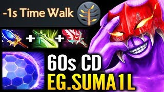 Hot 7.21 New Talent EG Sumail Pro Faceless Void Bloodthrone IMBA Carry Gameplay Update Dota 2