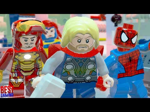 LEGO Marvel Super Heroes Walkthrough - That Sinking Feeling Guide