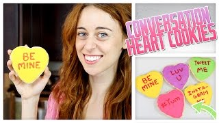 Sugar Cookie Conversation Hearts - Do It, Gurl