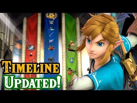 Official Zelda Timeline Updated!