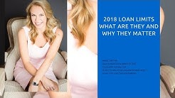 2018 loan limits. Why the increases are good for buyers!