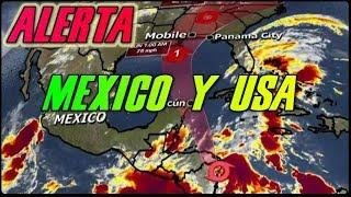 Huracán Nate: Alerta Mexico, Cuba y Estados Unidos / Ya casi es Huracan Nate Categoria 1