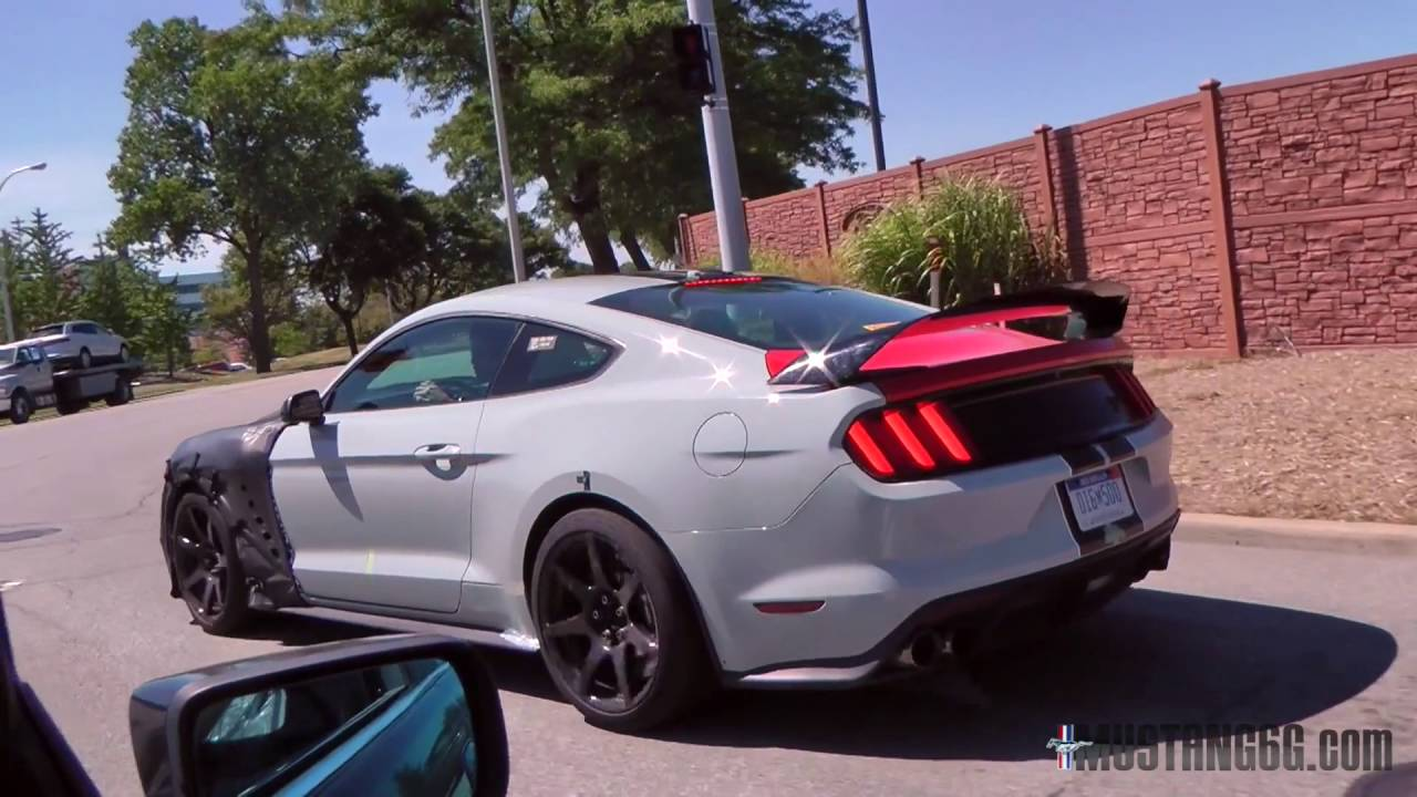 2018/2019 Shelby GT500 Mustang Prototype Soundcheck - YouTube