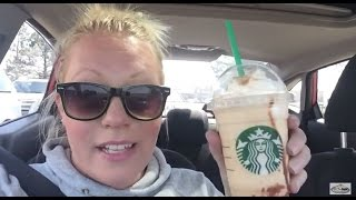 Starbucks New S'mores Frappuccino, Lori Tries It!