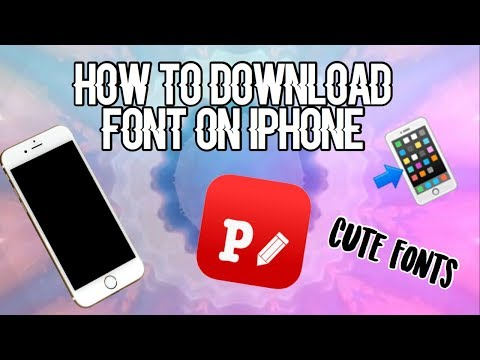 How To Download Font On Iphone || Tutorial