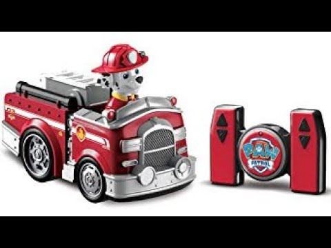 Paw Patrol Remote Control Fire Truck Play - YouTube b8e5dcde3abe