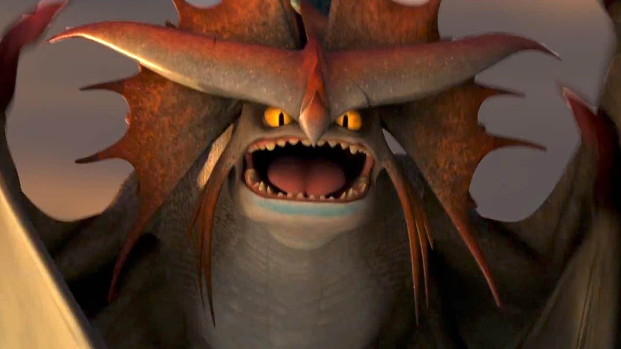 It is a graphic of Monster Pictures of Dragons From How to Train Your Dragon