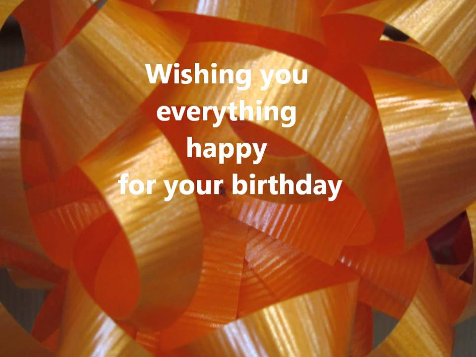 Birthday Song With Happy Wishes