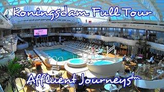 Koningsdam Full Tour in 1080p