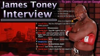 A one on one interview with James Toney (BDA Boxing Live)
