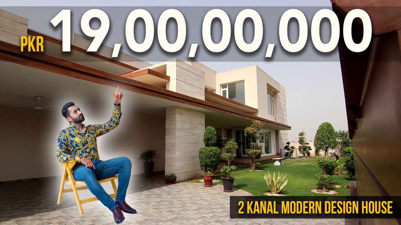Inside a Pkr. 19,00,00,000 Modern Design Mansion Tour by Syed Brother l Dha, Lahore