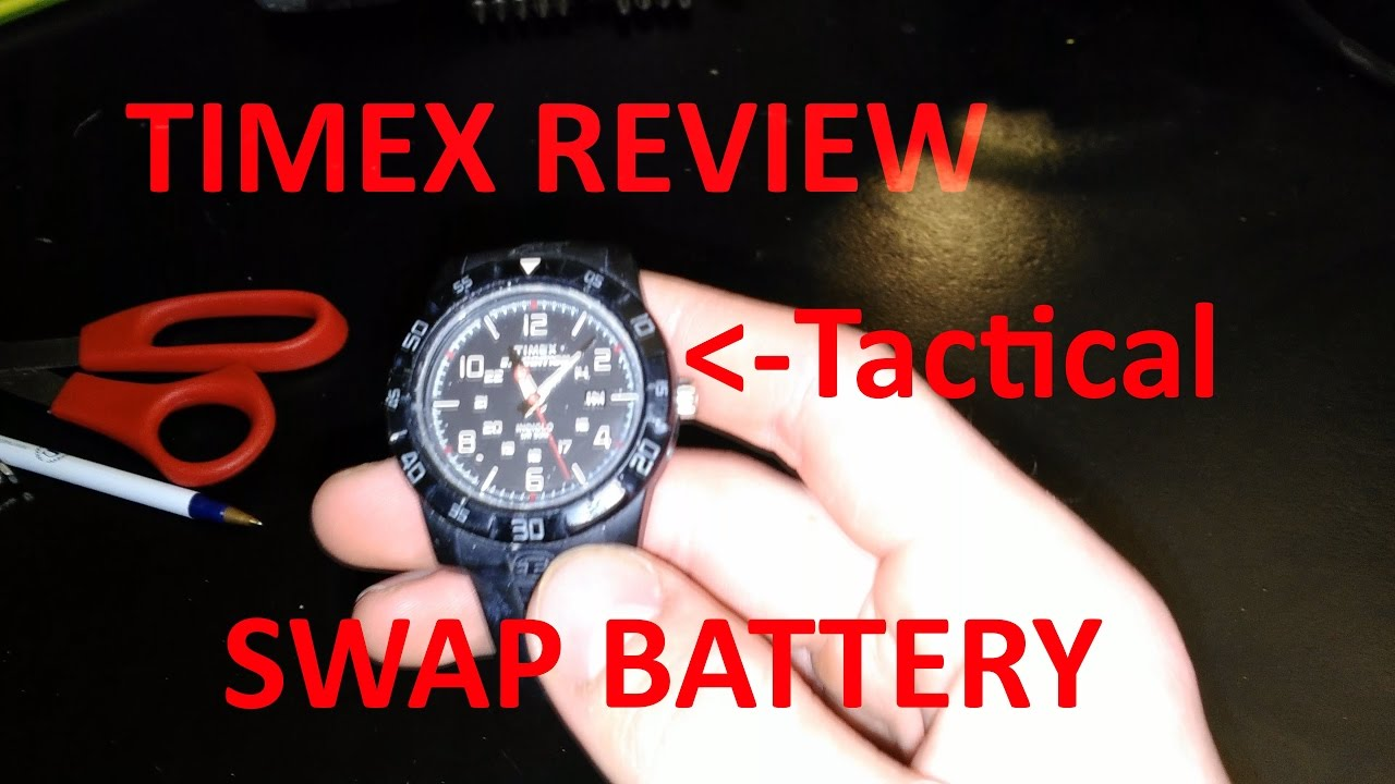 Timex Expedition Replace Watch Battery & Review - YouTube