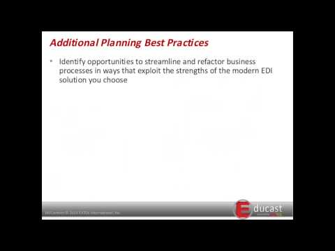 Modernizing EDI: Best Practices for Project Planning, Migrat