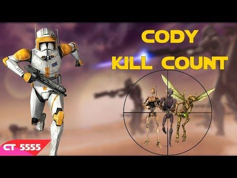 Star Wars Commander Cody Kill Count