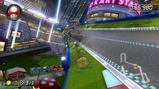 Mario Kart Stadium [200cc] - 1:07.725 - Matt Turk (Mario Kart 8 Deluxe World Record)