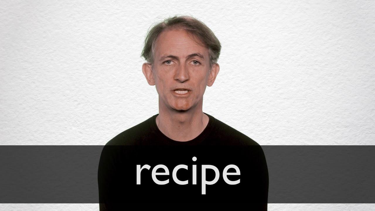 Ricetta In Inglese Pronuncia.How To Pronounce Recipe In British English Youtube