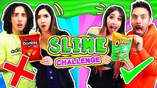 Don't Choose the Wrong Doritos VS Cheetos - SLIME Challenge
