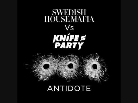 Swedish house mafia vs Knife Party - Antidote (Original mix vs Tommy Trash remix).wmv
