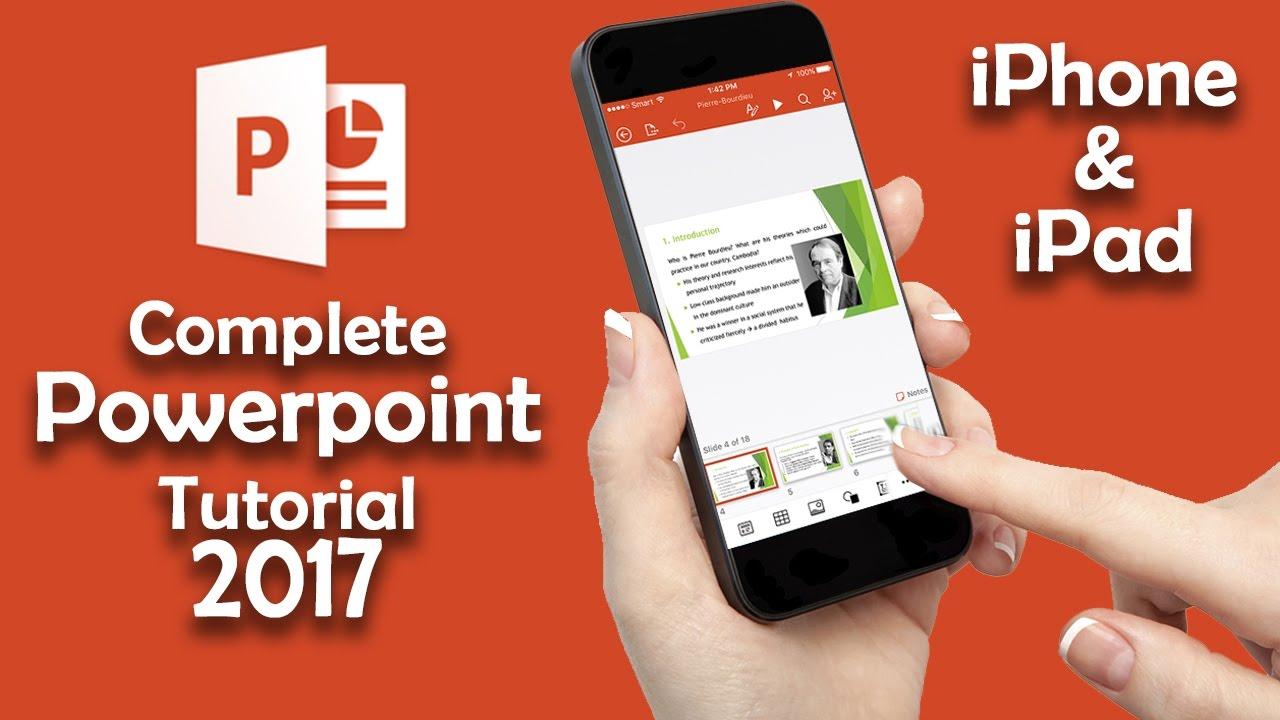 powerpoint iphone