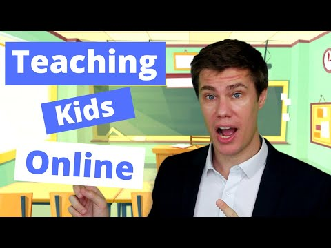10 Tips For Teaching Online | How To Teach English Online To Kids | Kindergarten Online Class | Zoom