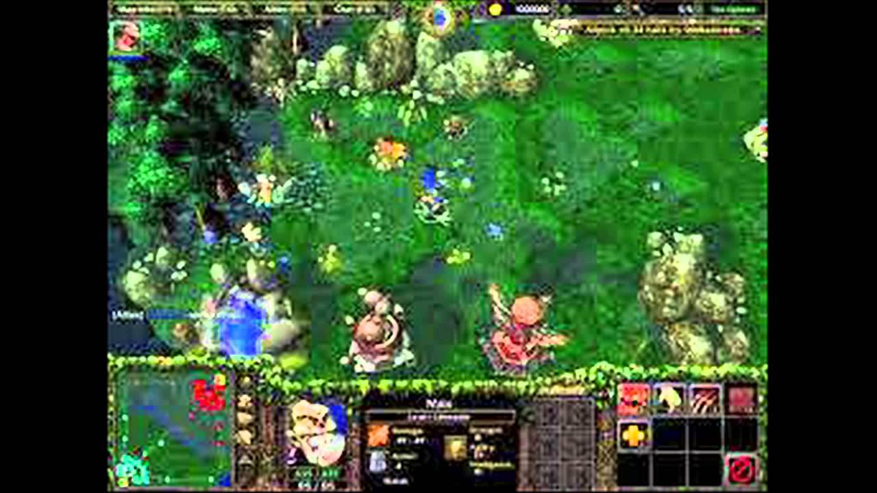 League Of Legends Pre Alpha Gameplay Codename Dota 2