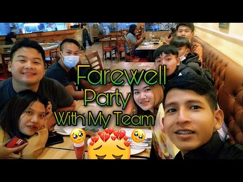 ROMAY- Farewell Party