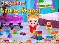 Baby Hazel Learns Shapes-Baby Hazel games