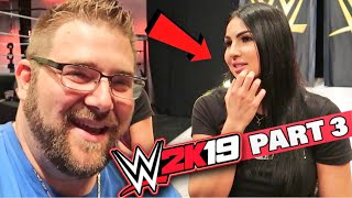 Grim Spills Water On Billie Kay at WWE Performance Center - Is WWE 2k19 Fun to Play?