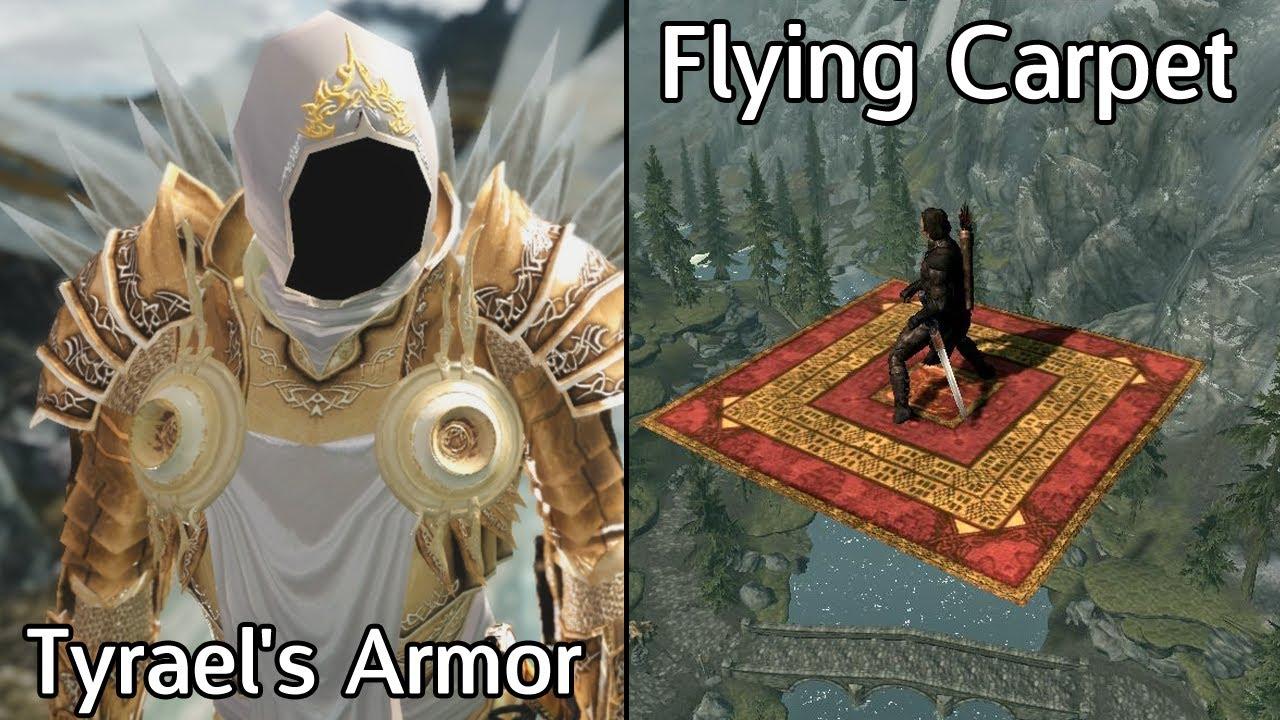 Skyrim Mods Flying Carpet Diablo Iii Archangel Of