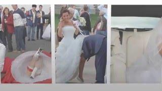 Подборка приколов. Свадебные приколы. Что делают невесты, когда...