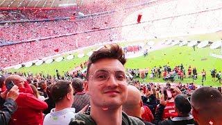FC Bayern Meisterfeier - Ribery & Robben Abschied | Stadionvlog
