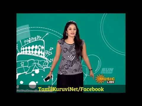 Vj Diya Menon Sun music Vaazthukkal, Full Show HD Video 11-08- 2016