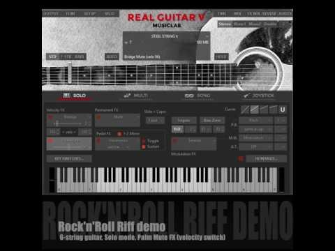 RealGuitar 5  Demo