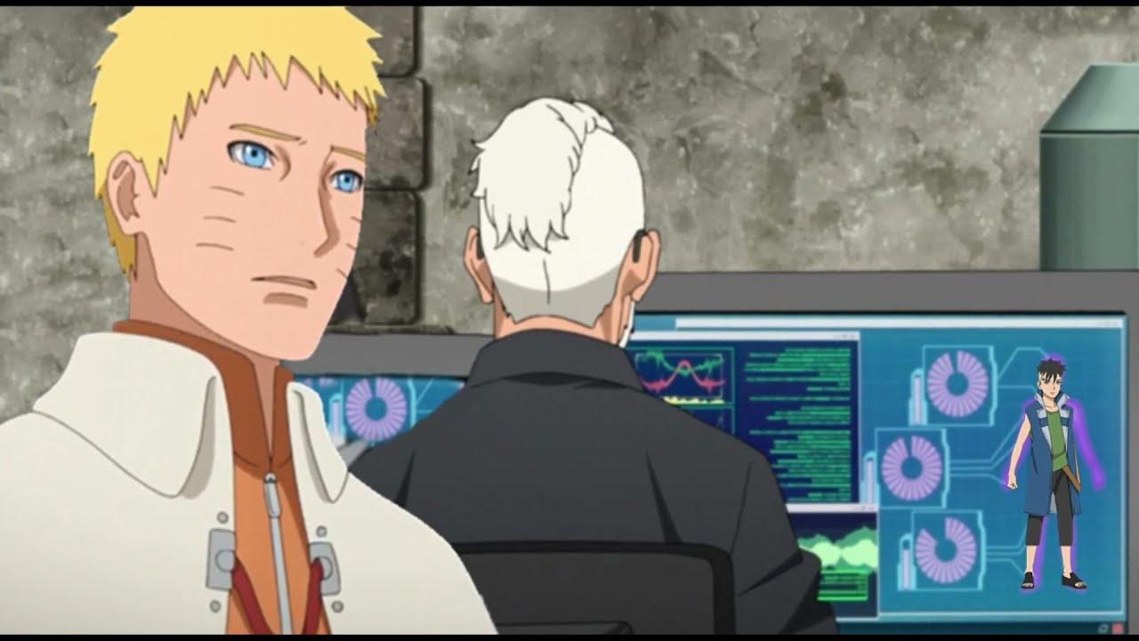 Download Boruto 220 (Spoiler): Amado restaura el brazo de Kawaki y Los Kages saben que Naruto perdió a Kurama