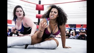 Download Davienne & Kris Statlander vs. Ashley Vox & Willow Nightingale - Limitless Wrestling (WWR, Shimmer) Mp3 and Videos