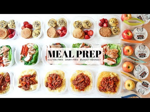 Budget-Friendly Meal Prep For Your Week (Gluten & Dairy Free) // Simply Taralynn