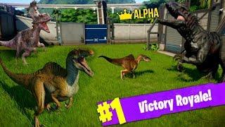 HYBRID DINOSAUR BATTLE ROYALE! (Jurassic World Evolution: THE SECRETS OF DOCTOR WU)