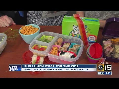 Healthy, kid-friendly lunch ideas