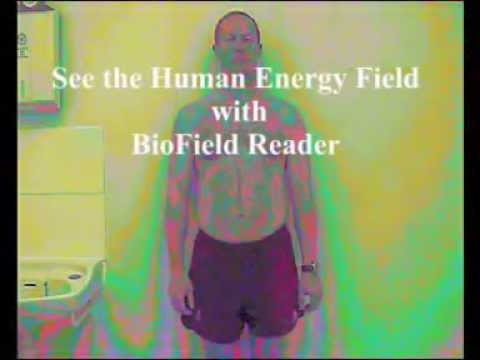 See the Human Energy Field - with BioField Reader