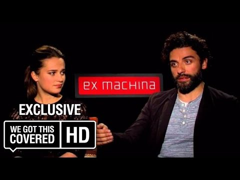 Exclusive Video Interview: Oscar Isaac And Alicia Virkander Talk Ex Machina [HD]