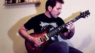 obsidian tide   debris guitar playthrough official hd