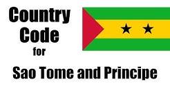 Sao Tome and Principe Dialing Code - Sao Tome and Principe Country Code & Telephone Area Codes