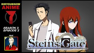 Steins;Gate - Did You Know Anime? Feat. Tristan Gallant (Glass Reflection)