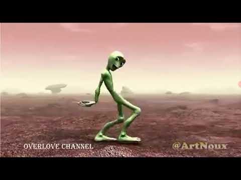 extraterrestre la danse