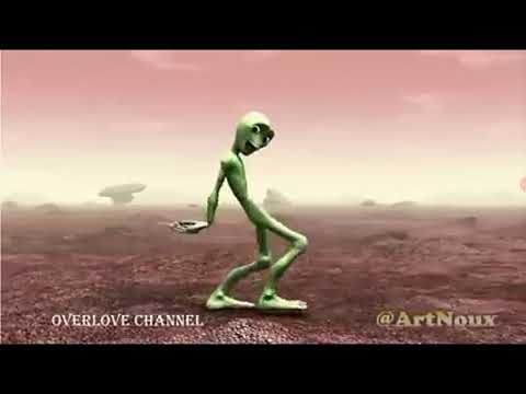 extraterrestre vert qui