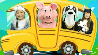 The Wheels on the Bus Sing along children song