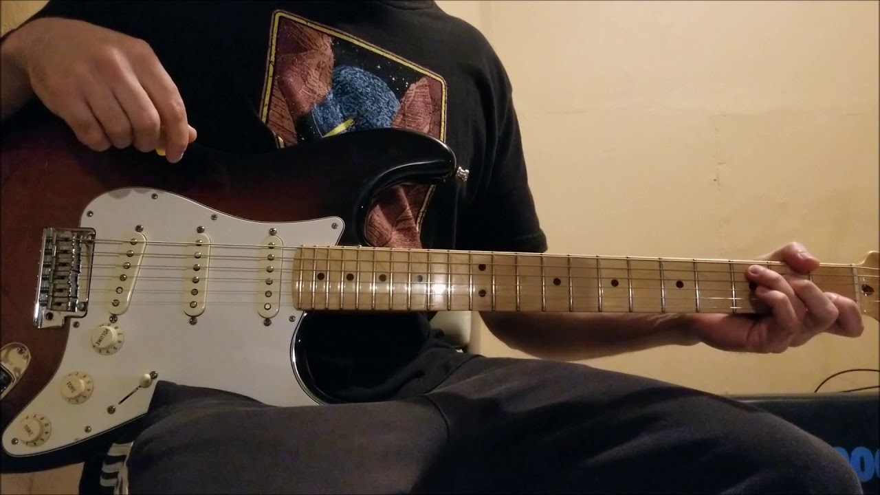 how to play street spirit on guitar