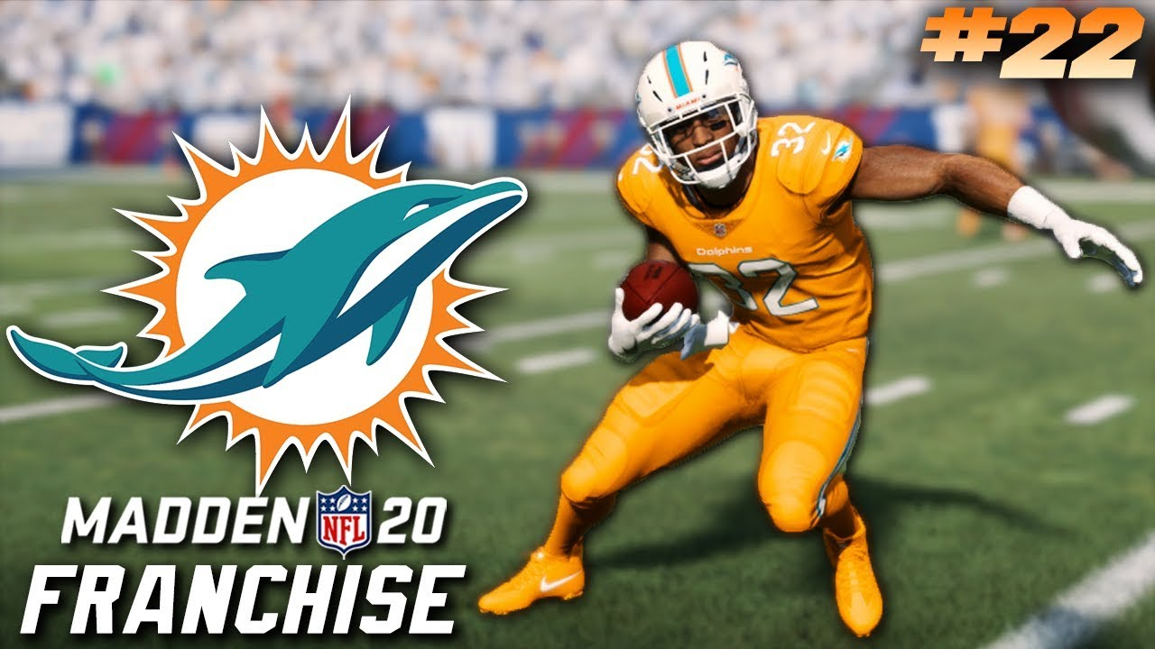 Madden 20 Miami Dolphins Franchise Ep. 22 | Color Rush Jerseys!