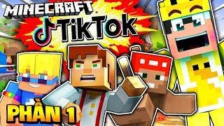 Tiktok Minecraft PhẦn 1 TỔng HỢp NhỮng Video Hay NhẤt  Mr VỊt LẦn ĐẦu Xem Tiktok Minecraft