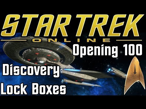 Star Trek Online - Opening 100 Discovery Lock Boxes